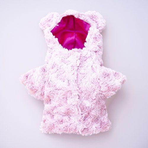 abrigos color rosa de perro