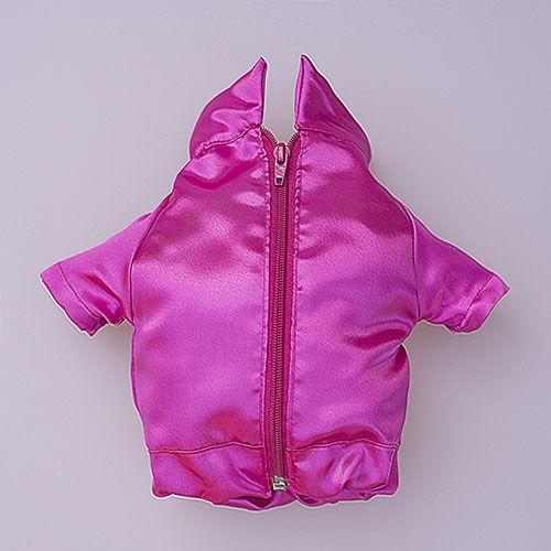 chaqueta color rosa para perro