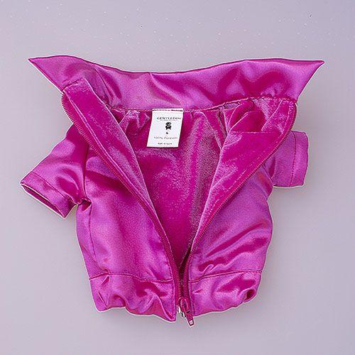 abrigo rosa para perro