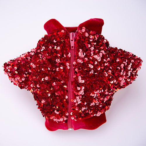 chaquetas rojas para perros